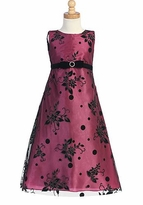 LIto Fuchsia Girls Party Dress