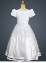 Beautiful Girls White Dress - Perfect for Communion or Weddings  SOLD OUT