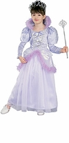 Girls Princess Costume and Tiara - Lavender