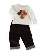 Boys Thanksgiving Outfit - Mud Pie