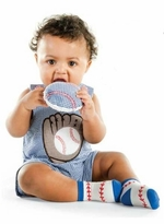 Baby Boys Baseball Shortall - 12-18 month  sold out