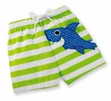 Baby Boys Swim Trunks - Shark Mud Pie