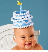 Boys Birthday Cake Headband  sold out