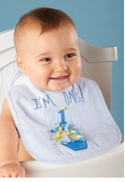 Boys First Birthday Bib - SOLD OUT