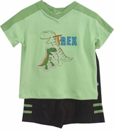 Infant Boys Short Set -  T Rex   SALE