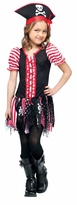 Girl's Tween Pirate Costume : Child Stowaway Sweetie Halloween Costume