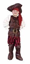 Child High Seas Buccaneer Pirate Costume