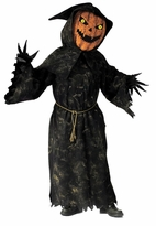 Child BOBBLE HEAD Pumpkin Costume