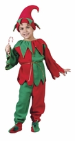 Childs Elf Costume - Kids Elf - 6 PC SET!