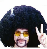 70's ADULT Fro Wig with Pick