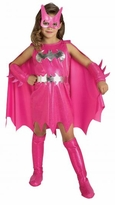 Child Batgirl Costume - Pink Batgirl Costume