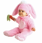 Baby Girls Bunny Rabbit Costume - Pink - Out of Stock