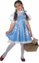 Dorothy Wizard of Oz Costume - Sequined Deluxe - sold out