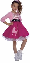 50's Costume for Girls