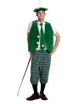 Adult Golfer Costume - Final Sale