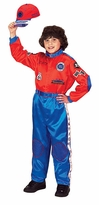 Aeromax RACE CAR DRIVER Costume - ROYAL BLUE/ RED