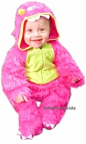 Baby Halloween Costume - Pink Furry Monster - SOLD OUT