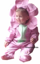 Baby Halloween Costumes - Pink Flower Girl - SOLD OUT