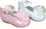 Baby Shoes - Girls Dress Patent Baby Shoes - SOLD OUT
