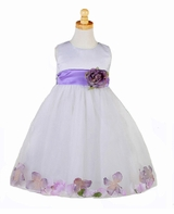 FLOWER GIRL DRESS - Lavender Petals -sold out