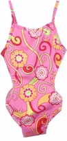 Big Fish Poochie Posie Side Cut Out Swimsuit  2T - 6X