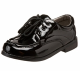 BLACK PATENT Boys Black Dress Shoes
