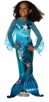 Blue Magical Mermaid Costume