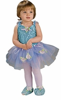 BLUE Sequin DAISY Ballerina Leotard with Slippers