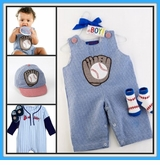 Boys Baseball Clothes , Shoes & Baby Gifts
