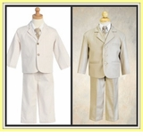 Boys Khaki Suits and Summer Suits