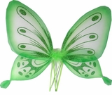Butterfly Wings - Green Sparkle