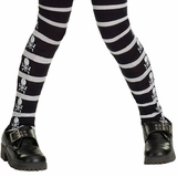 Child Skull and Crossbones Tights