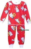Childrens Christmas Pajamas -Red Snowmen SOLD OUT