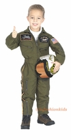 Childrens Costumes - Fighter Pilot Costume