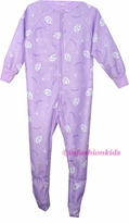 Childrens Footed Pajamas - Lavender Sheep sold out fn