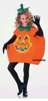 Childrens Halloween Costume - Fiber Optic Pumpkin Costume - SOLD OUT