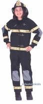 Childs Fireman Costume  - deluxe -sz 8-10 LAST ONE