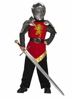 Childs Knight Costume - Peter High King Narnia - Super Deluxe
