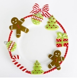 Christmas Dinner Plates - Cookie
