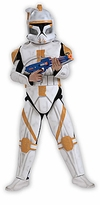 Clone Trooper Cody Costume  - Star Wars - Super Deluxe