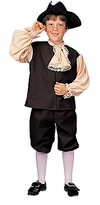 Colonial Boy Costume -  Childrens Historical Costumes