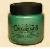 Crossroads Candles -  BAYBERRY and CINNAMON Jar Candle