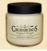 Crossroads Candles -  WINTER FROST  Jar Candle 16 Oz. SOLD OUT