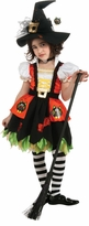 DELUXE Girls Witch Costume - Kitty Witch