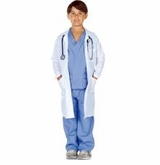 Blue Child Doctor Costume - SOLD OUT