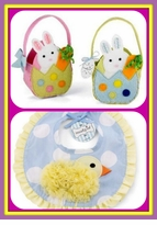 EASTER BASKETS & Easter Bibs