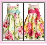Easter Dresses Floral & Dot Dresses