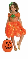 Fiber Optic Pumpkin Princess Costume