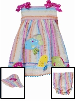 Fishy Summer Sundress Set - with HAT sold out