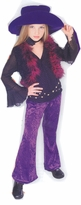 Girls Diva Rock Star Costume